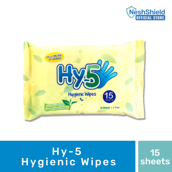 Picture of Hy-5 Hygienic Wipes 15s